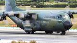 Romanian Air Force Lockheed C-130 at Malaga