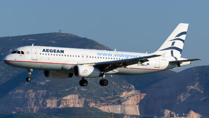 SX-DGD - Aegean Airlines Airbus A320