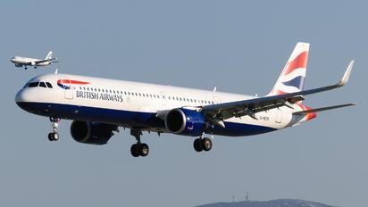 G-NEOP - British Airways Airbus A321 NEO