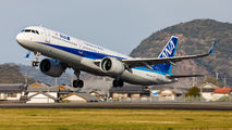 JA132A - ANA - All Nippon Airways Airbus A321 NEO aircraft