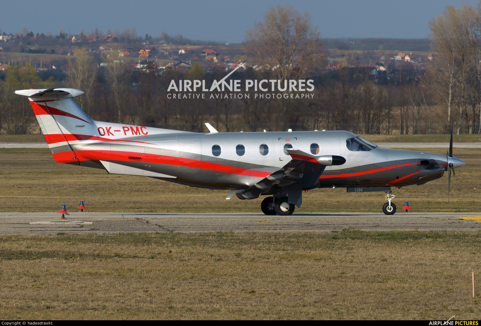 Private OK-PMC aircraft at Budapest Ferenc Liszt International Airport