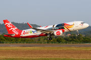 9M-AJD - AirAsia (Malaysia) Airbus A320 aircraft