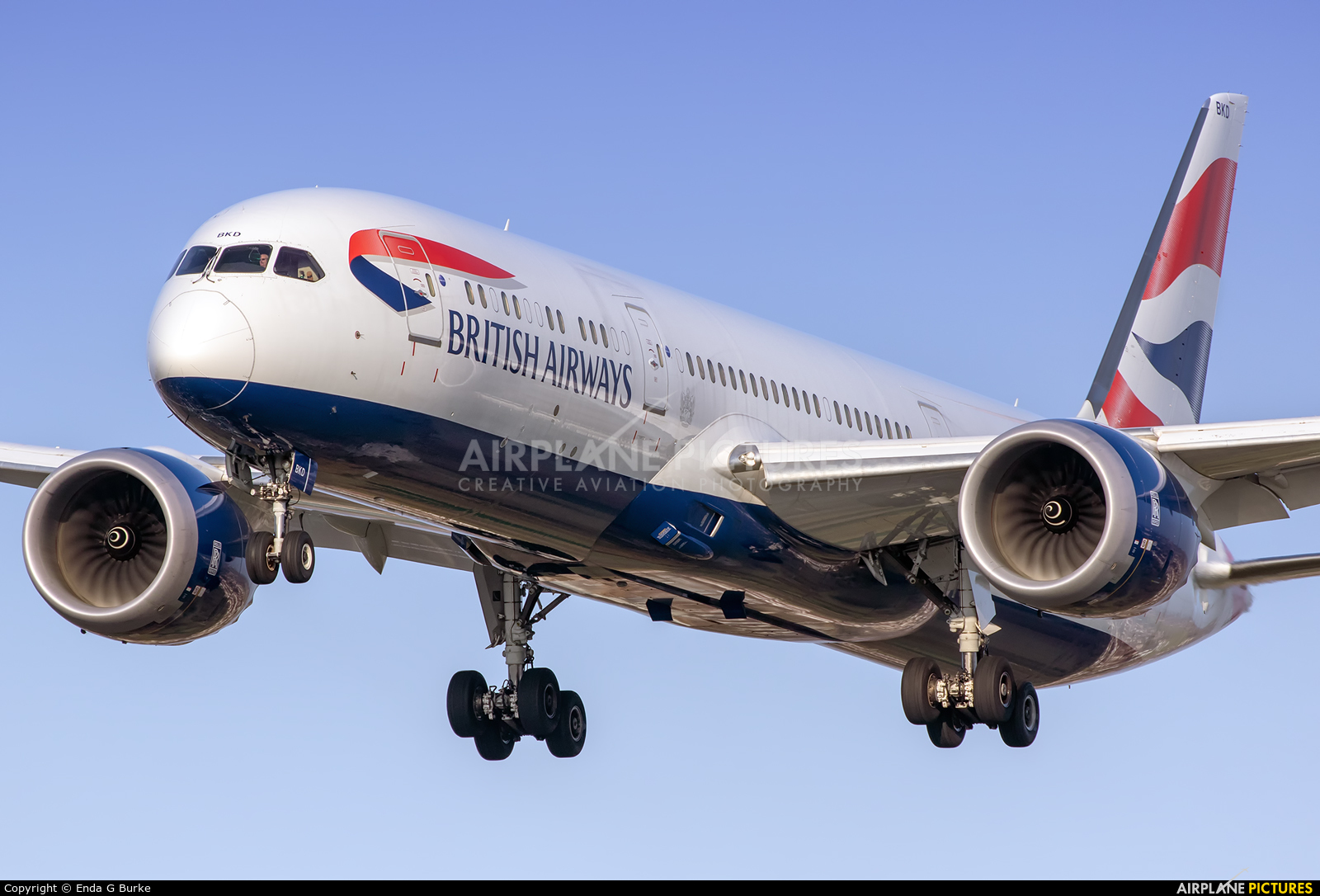 British Airways G-ZBKD aircraft at London - Heathrow