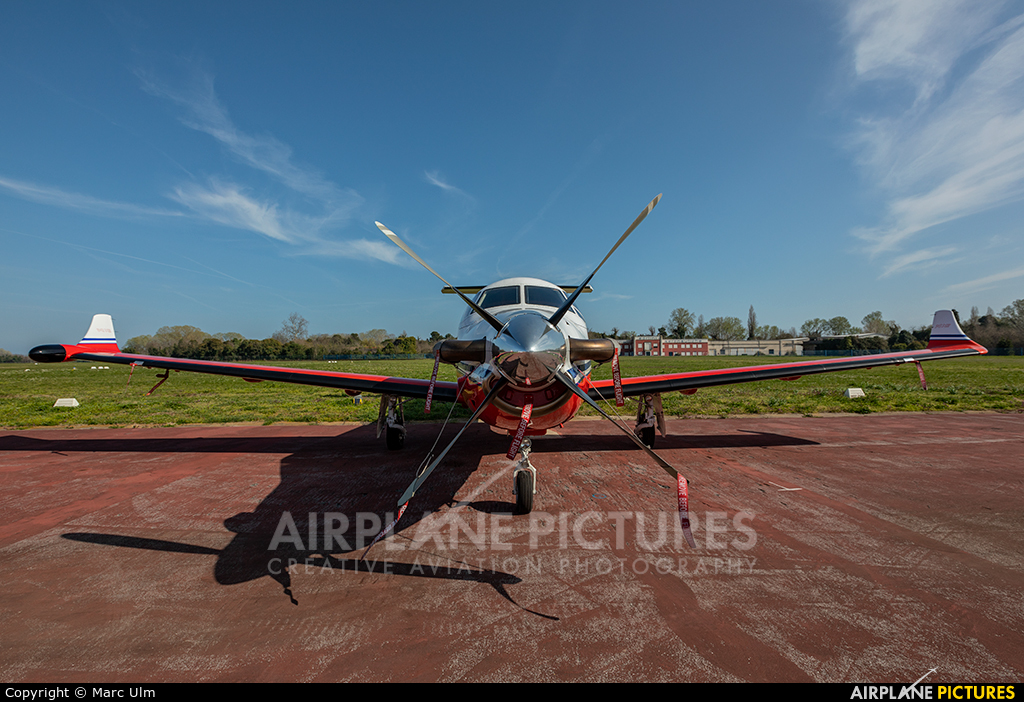 Private OE-EKD aircraft at Venice - Lido di Venezia