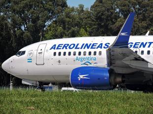 LV-CAP - Aerolineas Argentinas Boeing 737-700