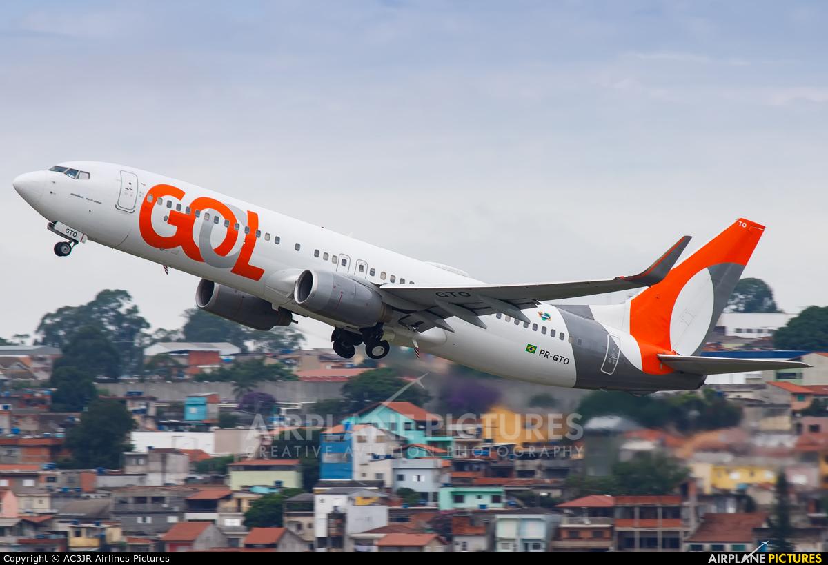 GOL Transportes Aéreos  PR-GTO aircraft at São Paulo - Guarulhos