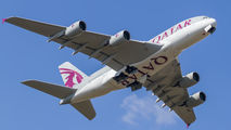 A7-API - Qatar Airways Airbus A380 aircraft