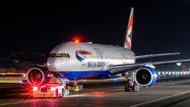 G-YMMR - British Airways Boeing 777-200 aircraft