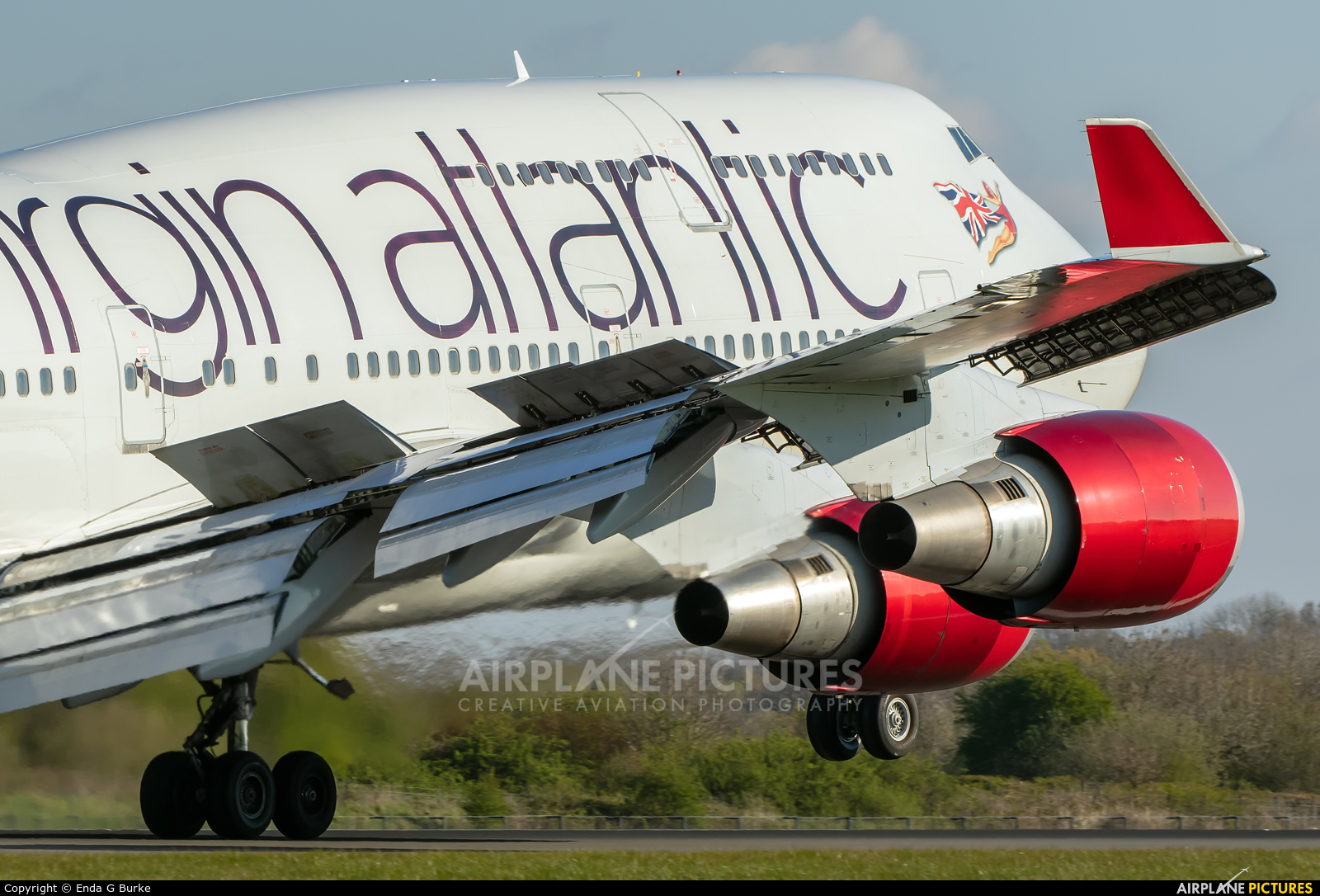 Virgin Atlantic G-VAST aircraft at Manchester