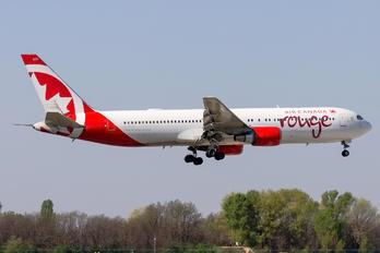 C-GBZR - Air Canada Rouge Boeing 767-300ER
