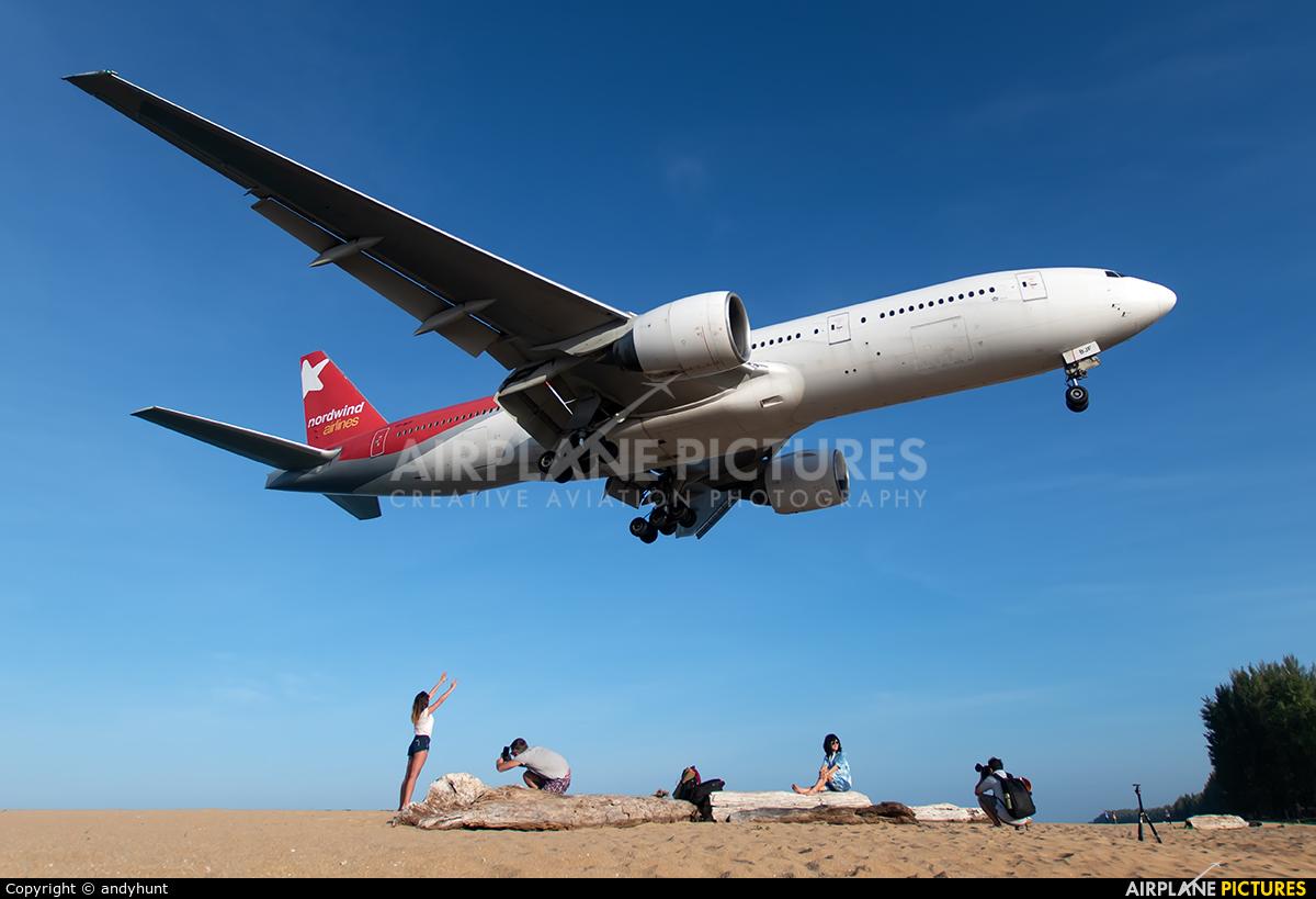 Nordwind Airlines VP-BJF aircraft at Phuket