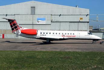 G-SAJU - Loganair Embraer ERJ-135