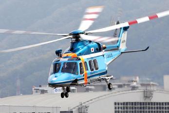 JA6196 - Japan - Police Agusta Westland AW139