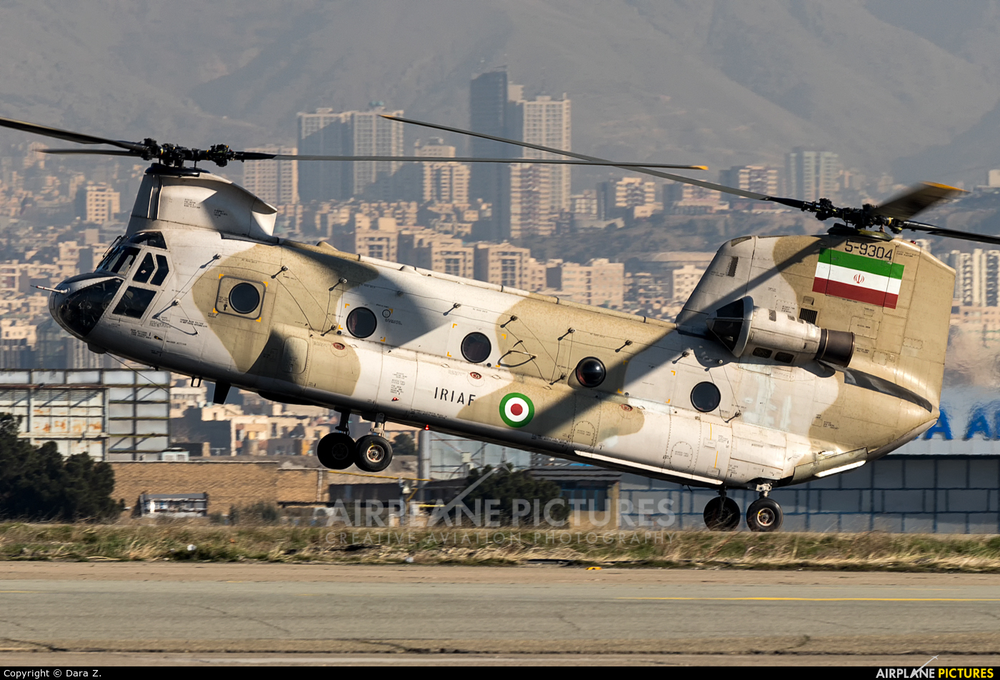 Iran - Islamic Republic Air Force 5-9304 aircraft at Tehran - Mehrabad Intl