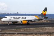 EC-MVH - Thomas Cook Balearics Airbus A320 aircraft