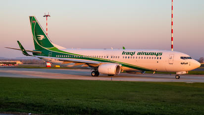 YI-ASF - Iraqi Airways Boeing 737-800