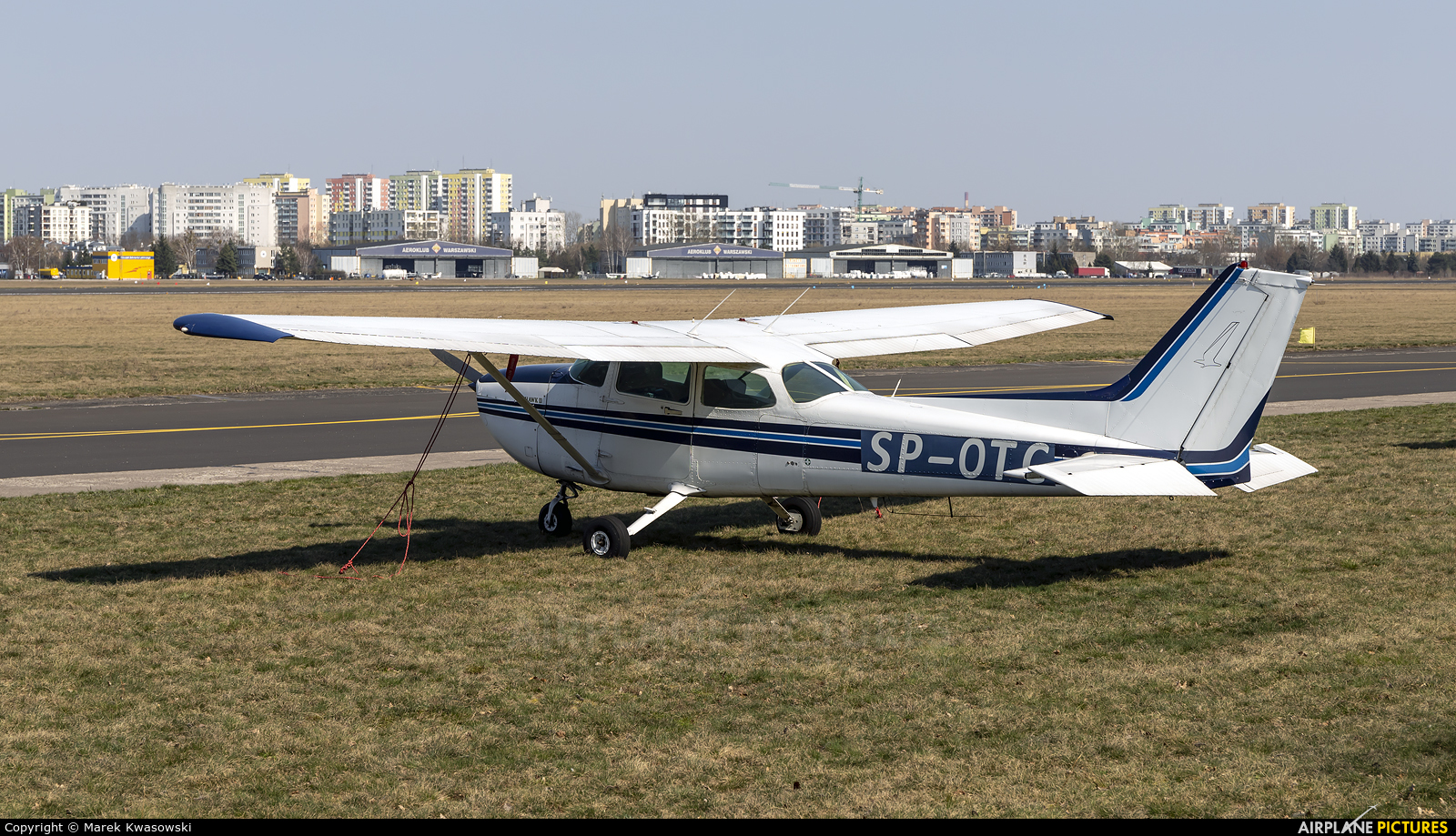 Goldwings Flight Academy SP-OTC aircraft at Warsaw - Babice