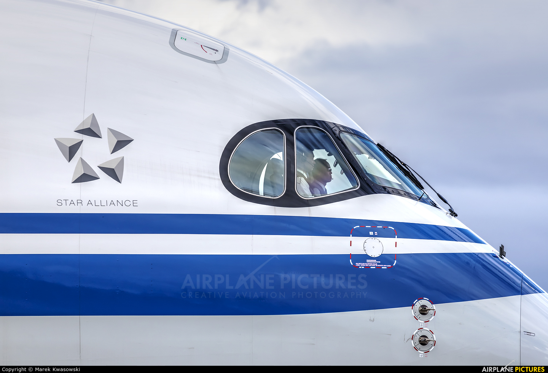 Air China B-1086 aircraft at Frankfurt