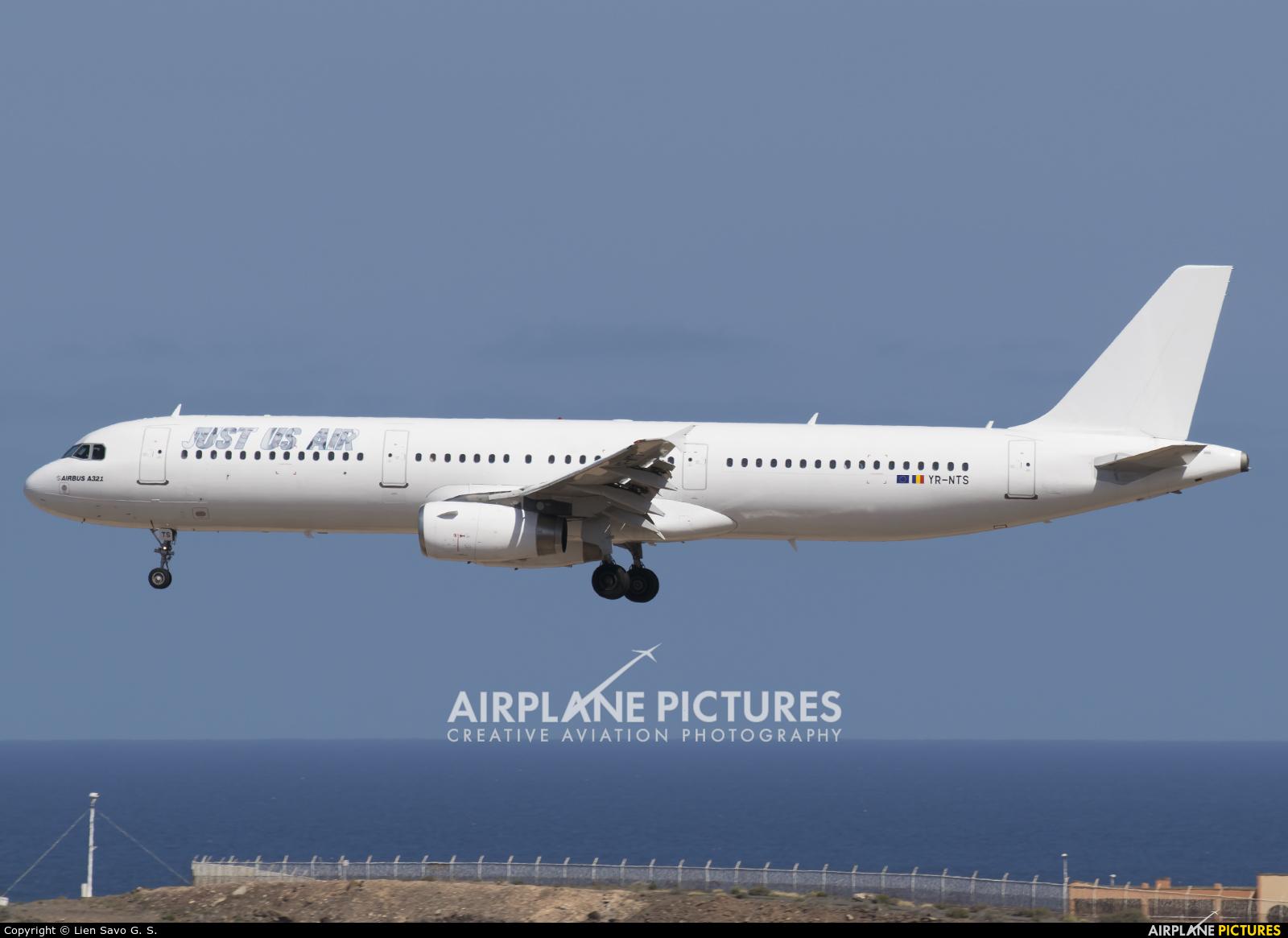 YR-NTS - Just US Air Airbus A321 at Aeropuerto de Gran