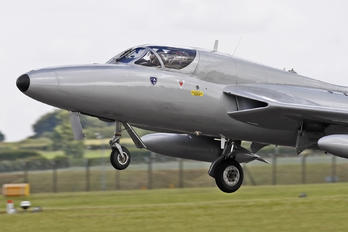 G-XMHD - Undisclosed Hawker Hunter T.7