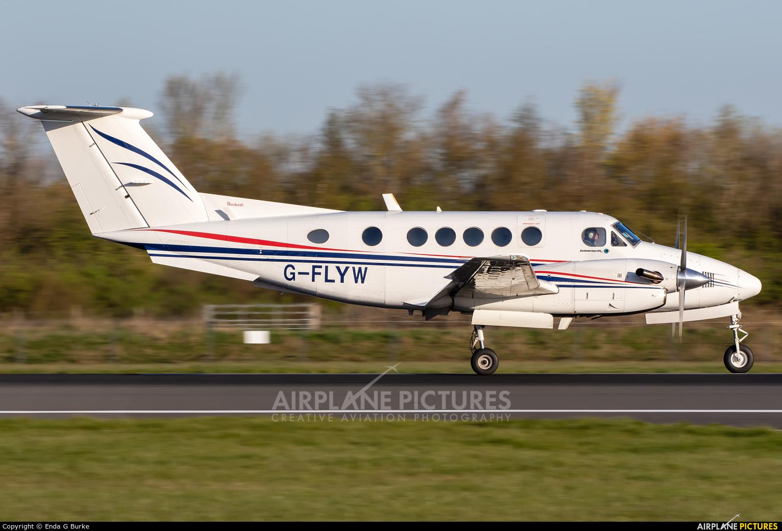 Fly Wales G-FLYW aircraft at Manchester