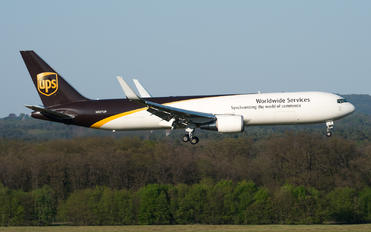 N357UP - UPS - United Parcel Service Boeing 767-300F