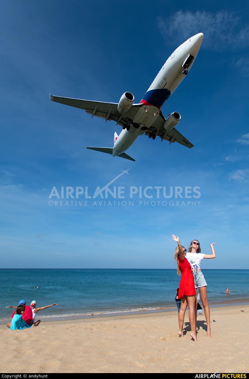 Malaysia Airlines 9M-MXI aircraft at Phuket