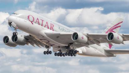 A7-APJ - Qatar Airways Airbus A380