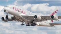 A7-APJ - Qatar Airways Airbus A380 aircraft
