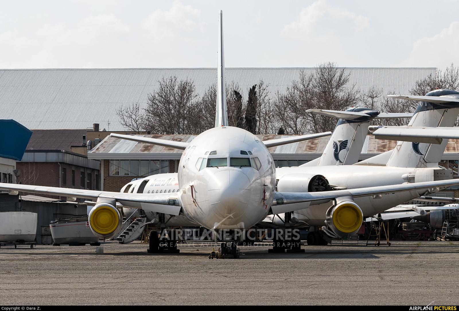 Iran - Government EP-AGA aircraft at Tehran - Mehrabad Intl
