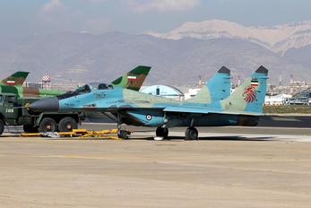 3-6117 - Iran - Islamic Republic Air Force Mikoyan-Gurevich MiG-29A