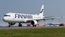 OH-LZA - Finnair Airbus A321 aircraft