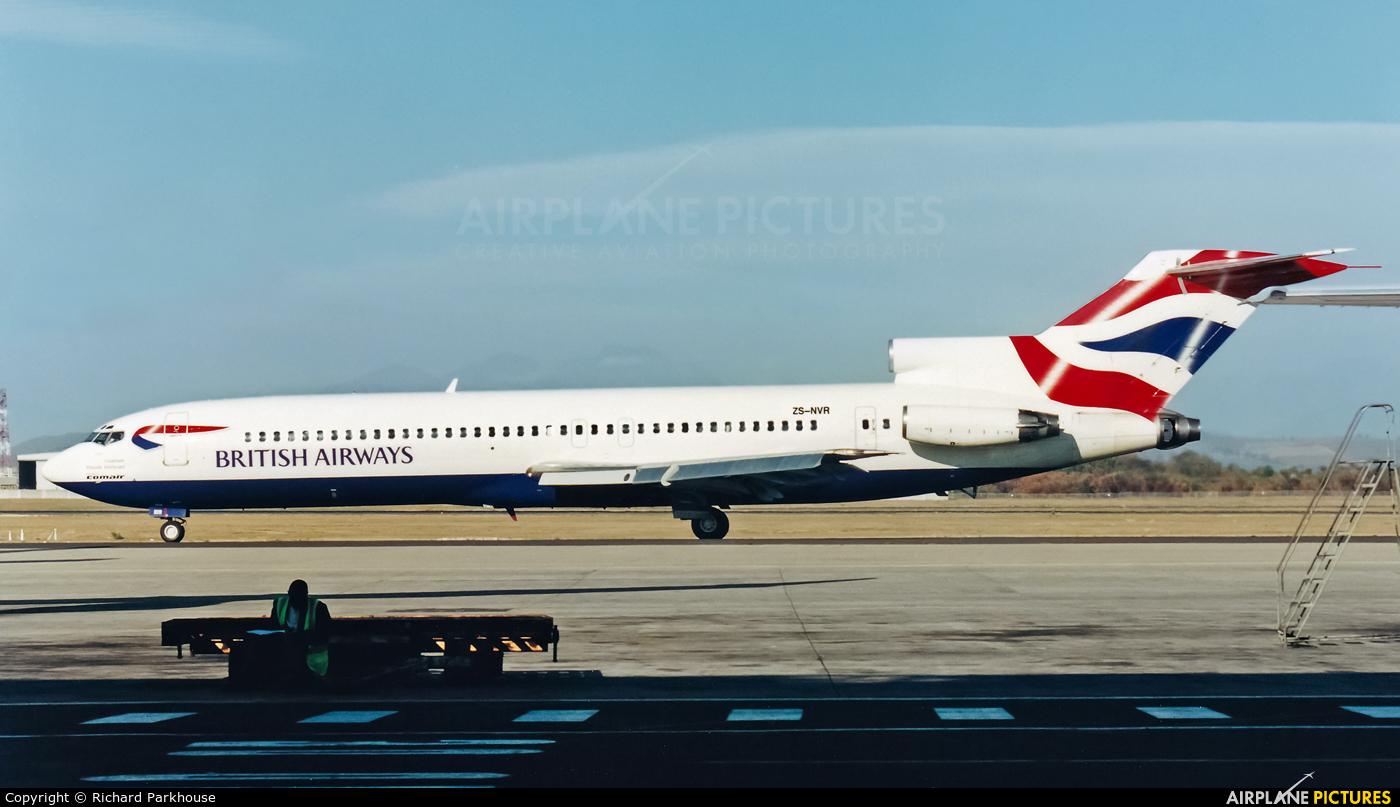 British Airways - Comair ZS-NVR aircraft at Cape Town Intl