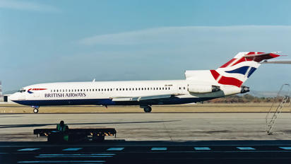 ZS-NVR - British Airways - Comair Boeing 727-200