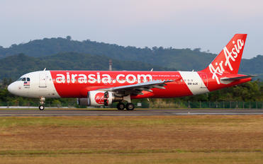 9M-AJX - AirAsia (Malaysia) Airbus A320
