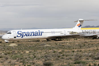 SE-RJH - Spanair McDonnell Douglas MD-82
