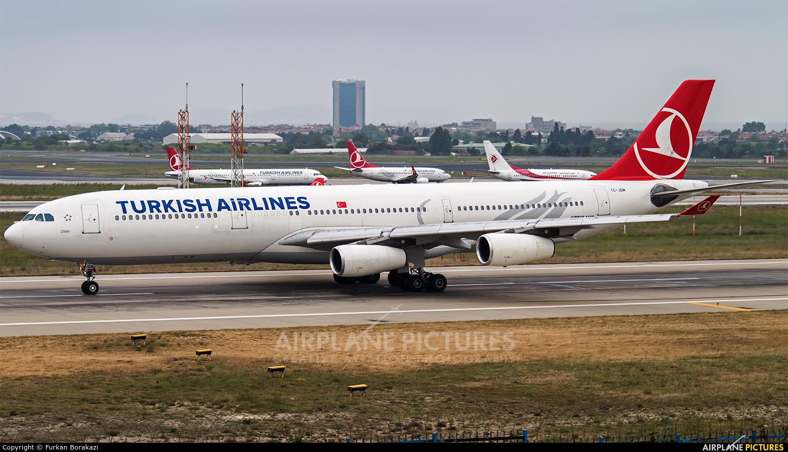 Turkish Airlines TC-JDM aircraft at Istanbul - Ataturk