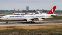 TC-JDM - Turkish Airlines Airbus A340-300 aircraft