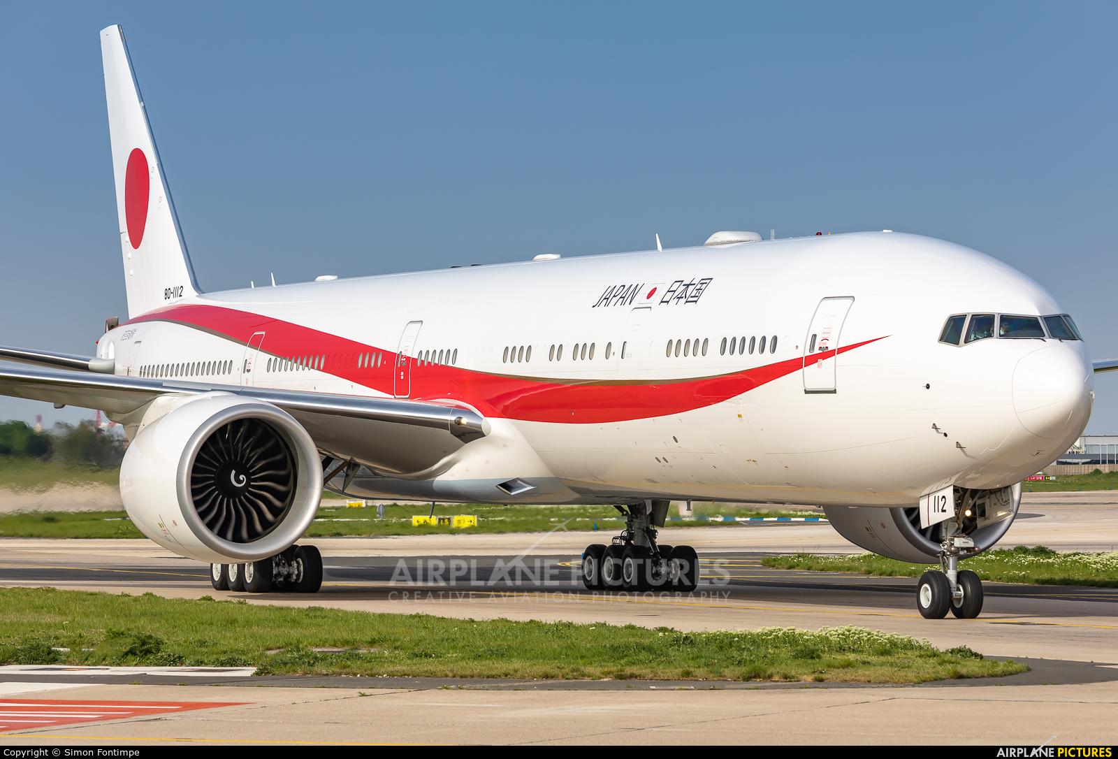 Japan - Air Self Defence Force 80-1112 aircraft at Paris - Orly