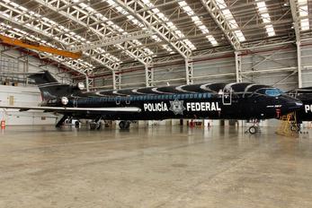 XC-NPF - Mexico - Police Boeing 727-200 (Adv)