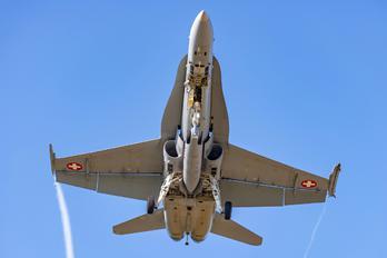 J-50** - Switzerland - Air Force McDonnell Douglas F/A-18C Hornet
