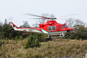 JA20NA - Japan - Fire and Disaster Management Agency Bell 412EP
