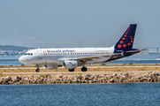 OO-SSF - Brussels Airlines Airbus A319 aircraft