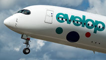 EC-NBO - Evelop Airbus A350-900 aircraft