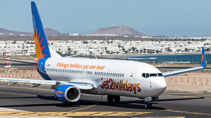 G-JZBR - Jet2 Boeing 737-8MG