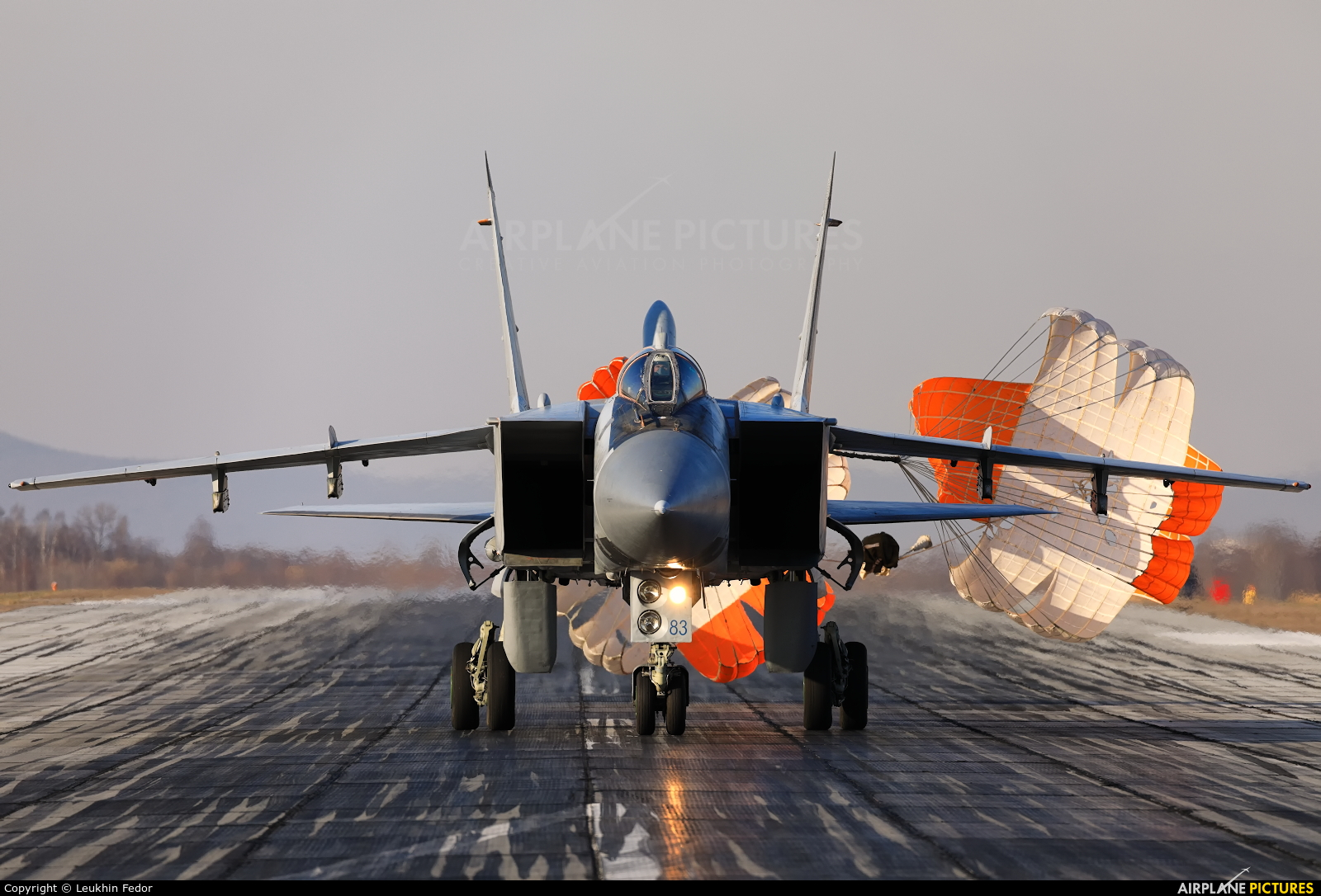 Russia - Air Force 83 BLUE aircraft at Undisclosed Location