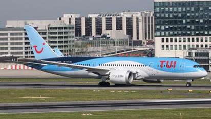 OO-JDL - TUI Airlines Belgium Boeing 787-8 Dreamliner