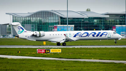 S5-AAK - Adria Airways Canadair CL-600 CRJ-900