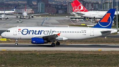 TC-ODA - Onur Air Airbus A320