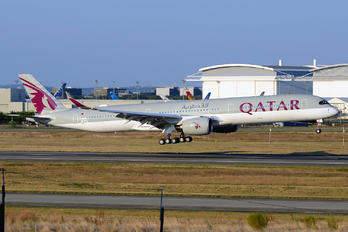 F-WZGK - Qatar Airways Airbus A350-1000